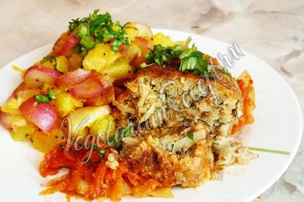 Постные голубцы - оригинальные рецепты вкусного блюда без мяса и сметаны