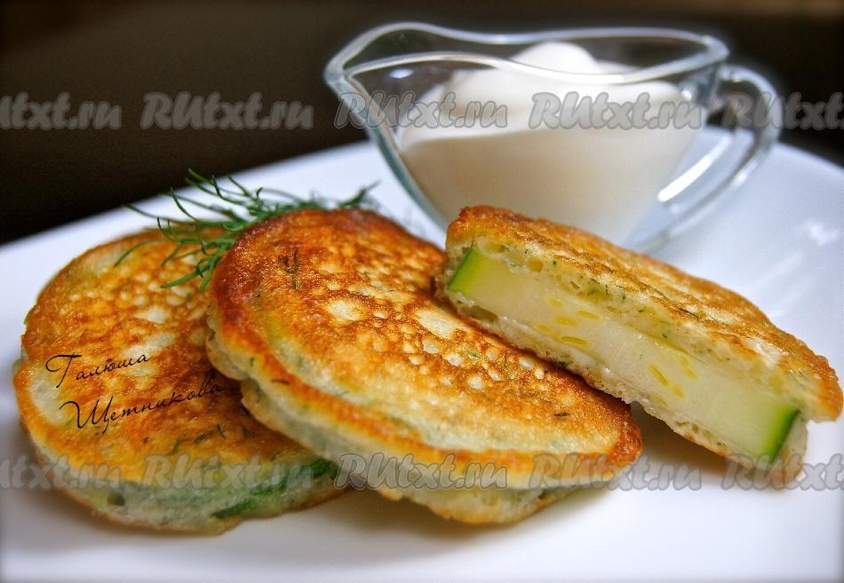 Кабачки в духовке с сыром в кляре