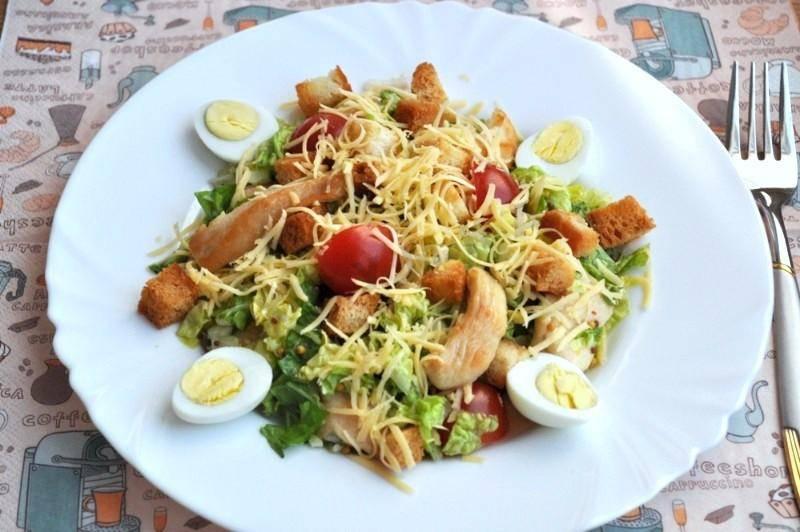 Салат с пекинской капустой - простые рецепты с фото