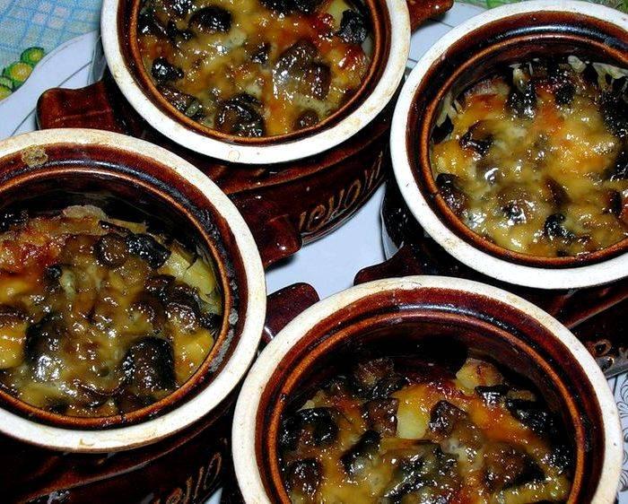 Картошка в горшочках в духовке: рецепты блюд