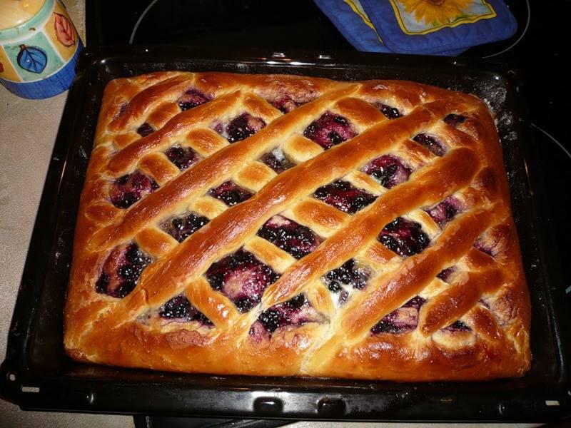 Пирог с яблоками и джемом: рецепт с фото пошагово