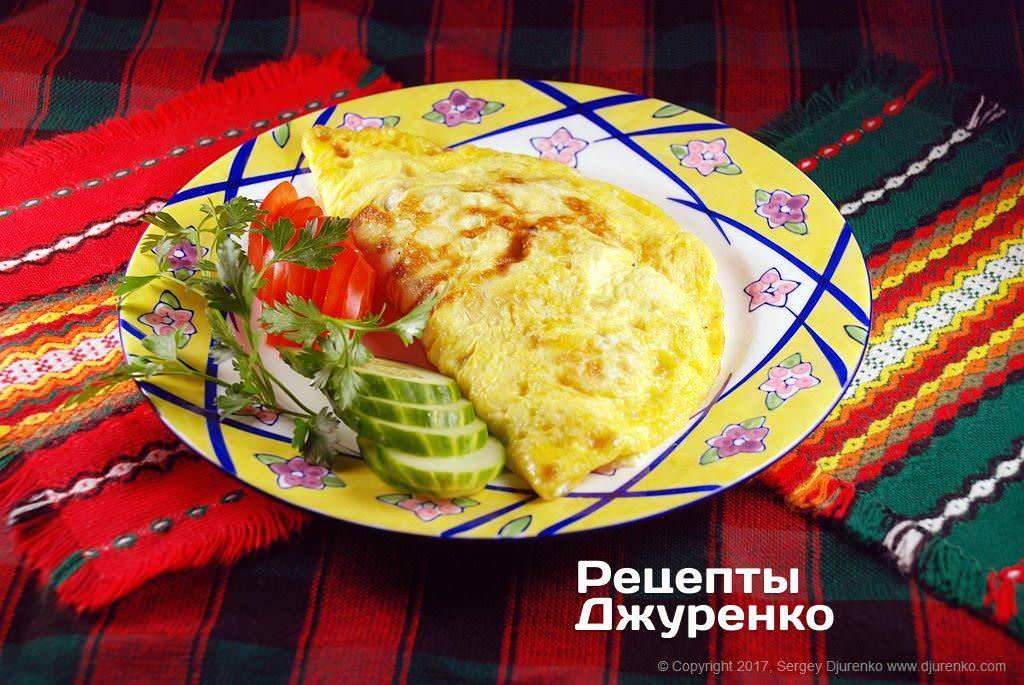 Омлет с белой фасолью