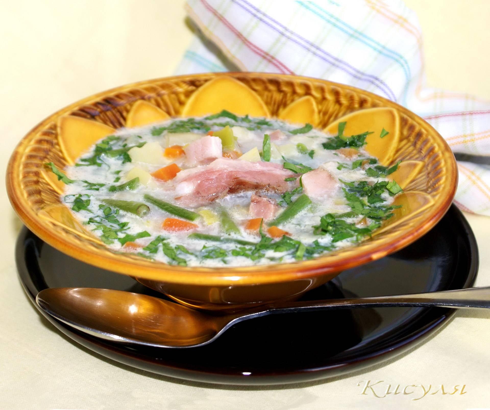 Горячие супы - рецепты