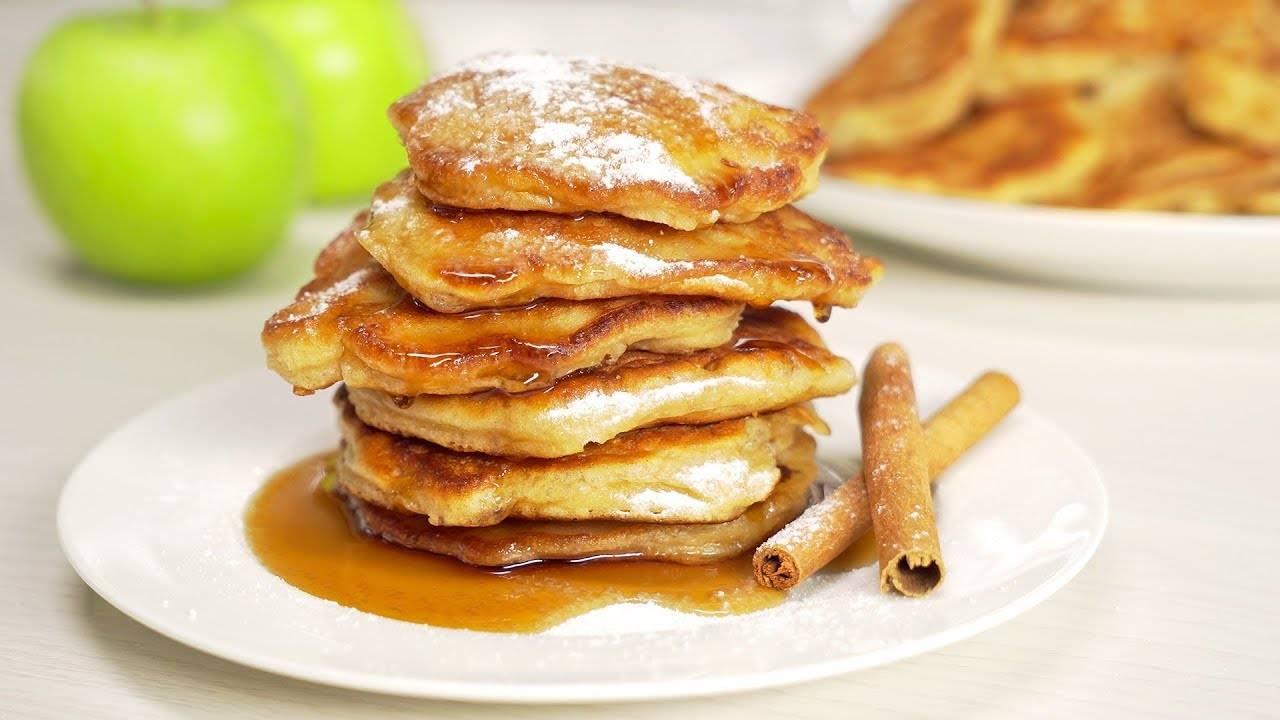 Оладьи с яблоками. 8 рецептов вкусных и воздушных оладушек с яблочной начинкой