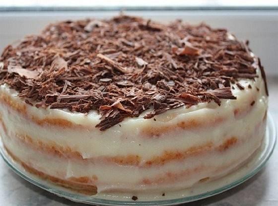 Шикарный бисквит для торта на сковороде