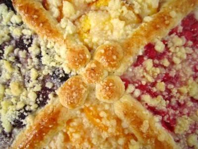 Бисквит  двухцветный