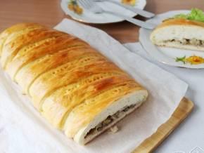 Кулебяка с капустой и яйцом в духовке – пошаговые рецепты приготовления