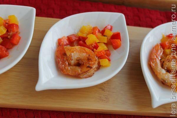 Легкая и быстрая мини-закуска с креветками – рецепты постных блюд