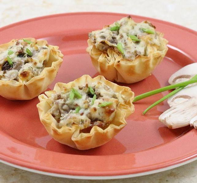 Тарталетки с сыром - 34 домашних вкусных рецепта приготовления