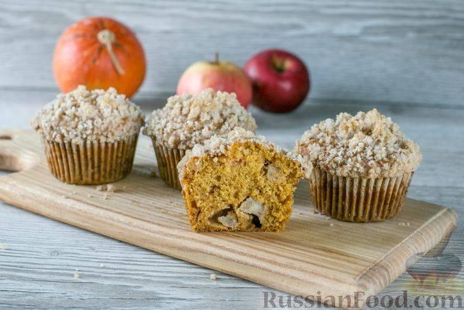 Простые рецепты аппетитных маффинов с яблоками