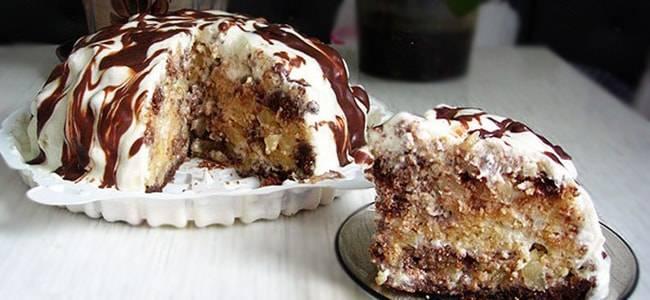 Торт «панчо» классический рецепт сладости с фото пошагово
