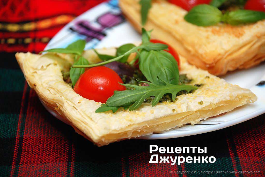 Мини-пицца из кабачков