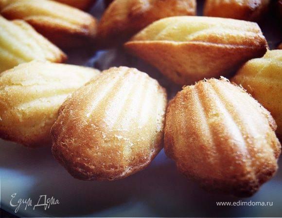 Пирожные Мадлен