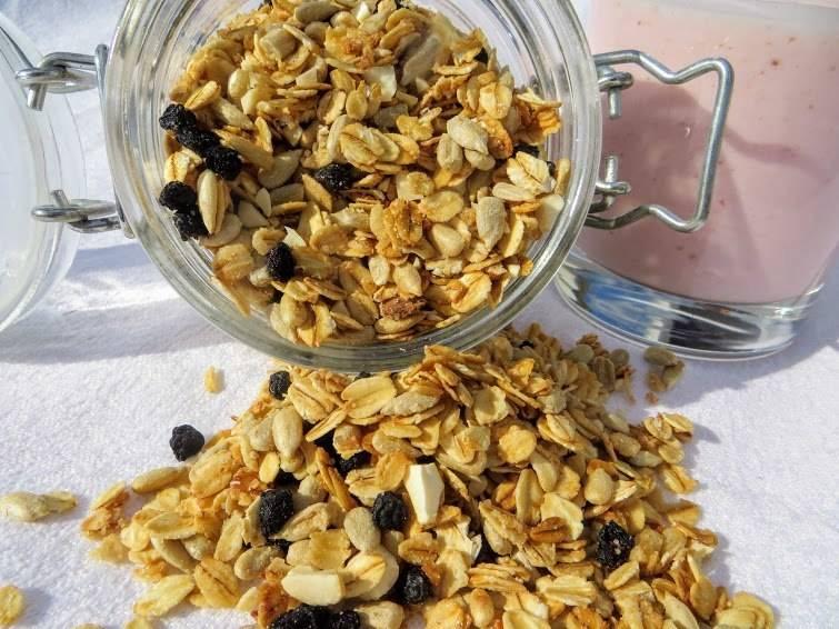 Гранола в микроволновке: рецепт с фото пошагово