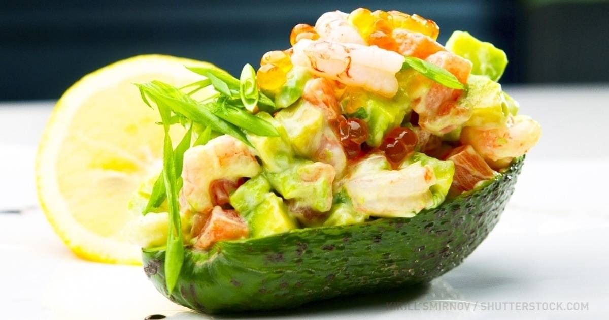 Паста с авокадо