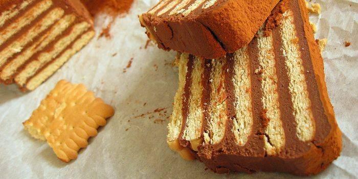 Домашнее печенье со сгущенкой