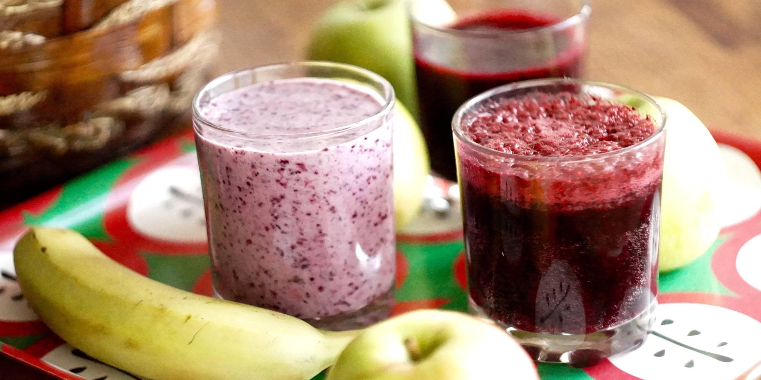 Быстрый рецепт приготовления смузи из замороженных ягод