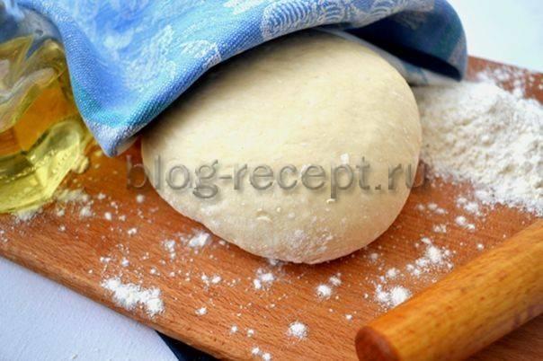 Постное тесто для пирожков