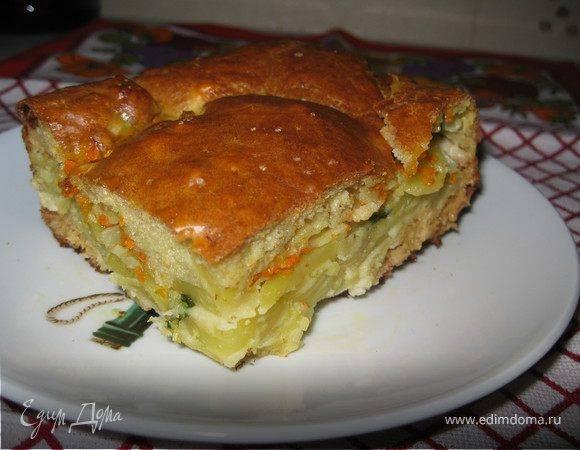 Пирог со свеклой - рецепт с фото