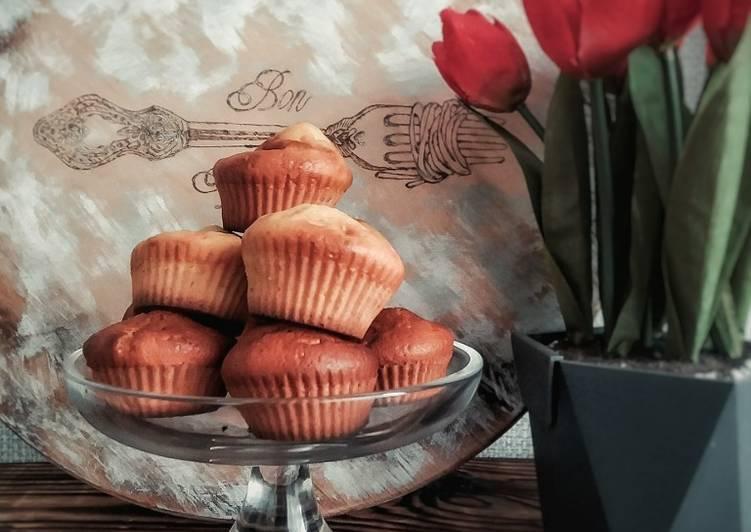 Кексы с мятой