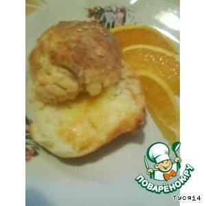 Булочки за полчаса с апельсиновым маслом