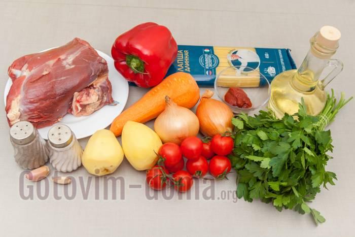 Лагман: рецепт классический - пошаговый рецепт с фото