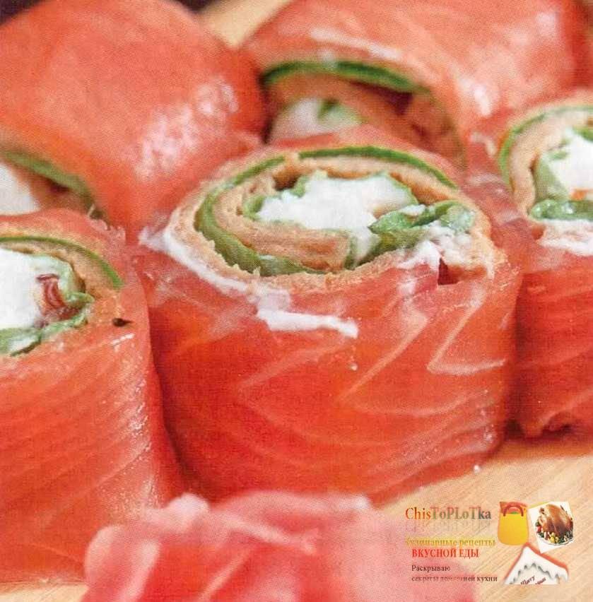 Запеченная красная рыба с начинкой  - перчинка хозяюшка -