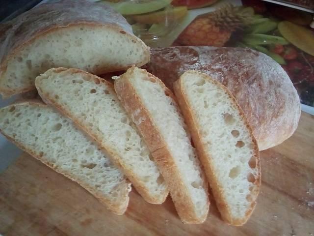 Чиабатта (ciabatta) - вкусные заметки