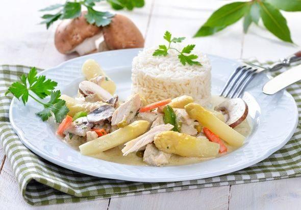 Как приготовить фрикасе из курицы по классическому пошаговому рецепту