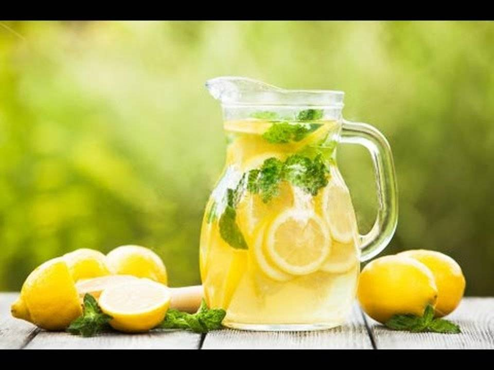 """Лимонный напиток """"турецкий лимонад"""""""