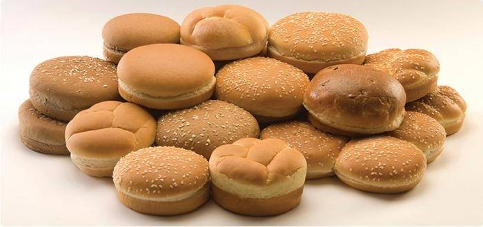 Булочки с кунжутом для гамбургеров
