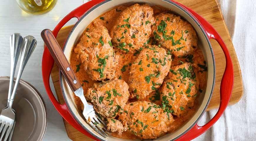 Ленивые голубцы из курицы - пошаговый рецепт с фото |  блюда из курицы