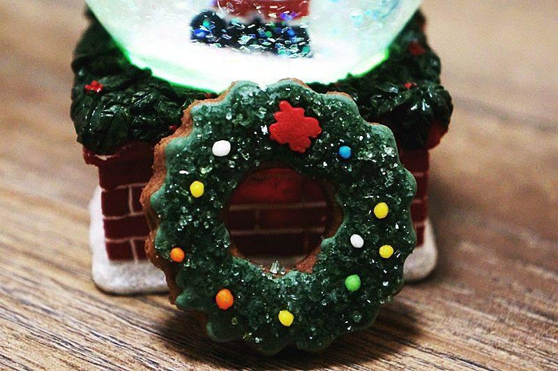 """Пирог """"рождественский венок"""" с хурмой – очень вкусный и красивый"""