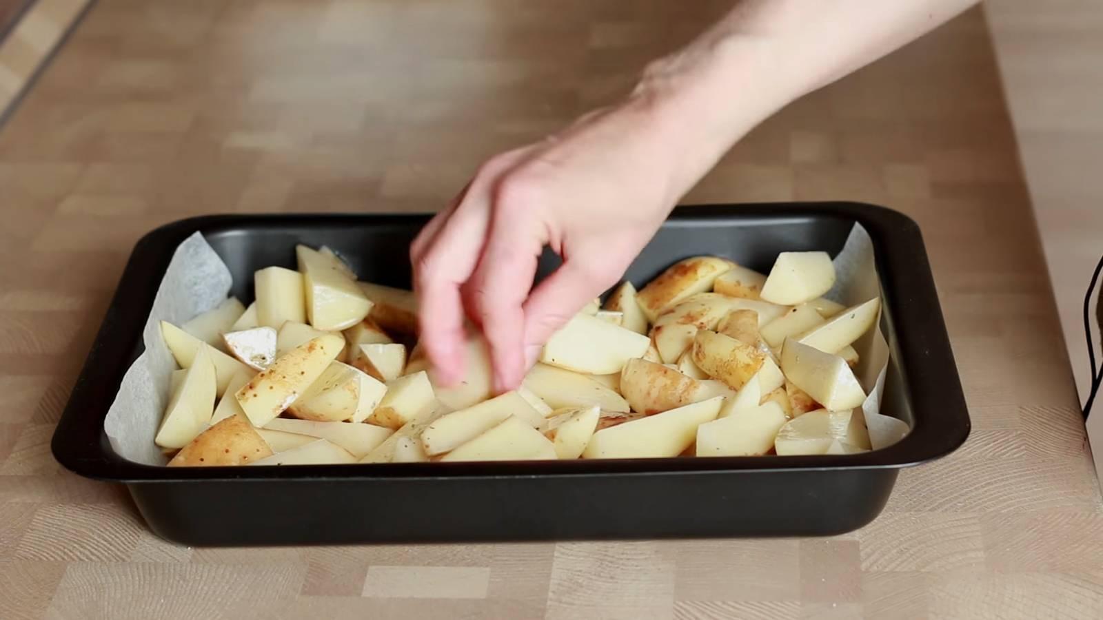 """Картофель с мясом """"по-домашнему"""""""