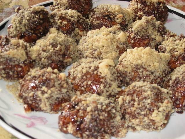Рецепты печенье шарики