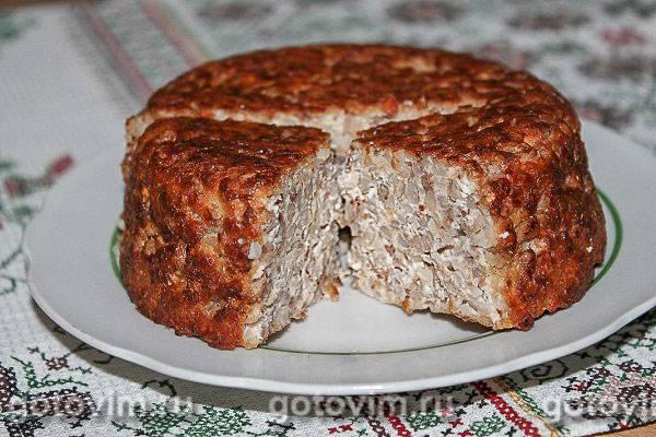 Крупеник из гречки с творогом, а также рисовый и пшённый: пошаговые рецепты с фото и видео