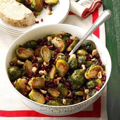 Блюда из брюссельской капусты: рецепты приготовления с фото