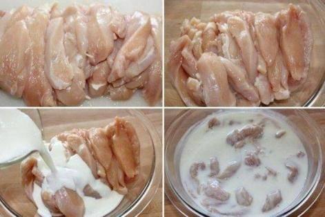 Куриная грудка в молоке - рецепт с фотографиями - patee. рецепты