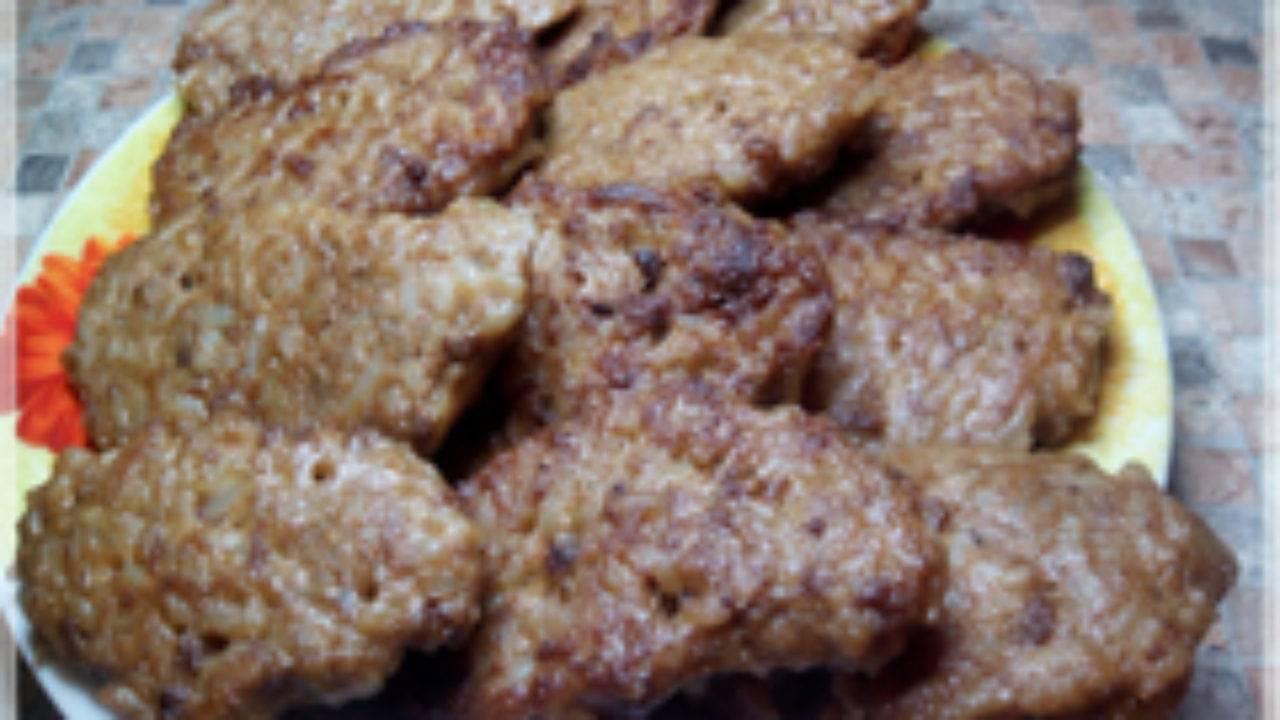 Печеночные оладушки - 7 пошаговых фото в рецепте