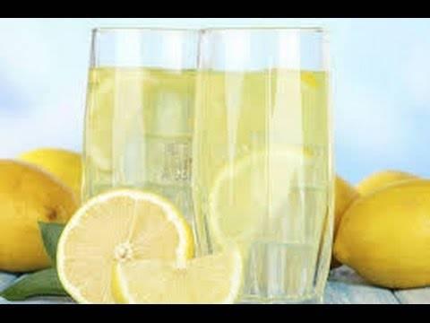 Домашний лимонад без кипячения