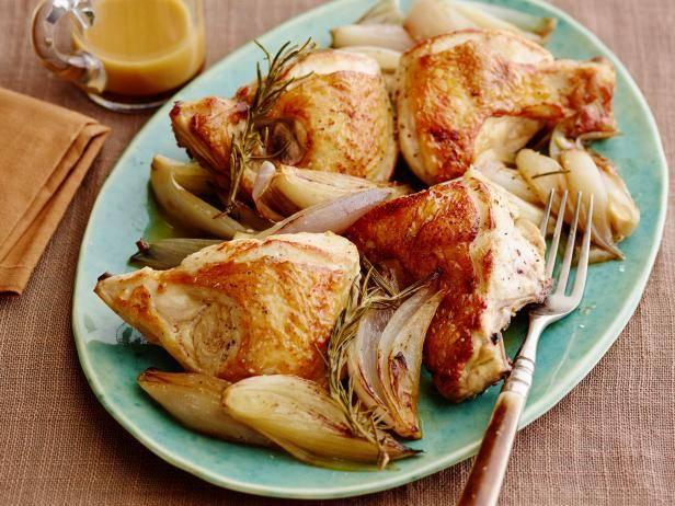 Куриные грудки в сливочном соусе с лимоном и тимьяном