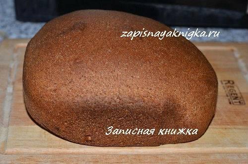 Ржаной хлеб на молочной сыворотке
