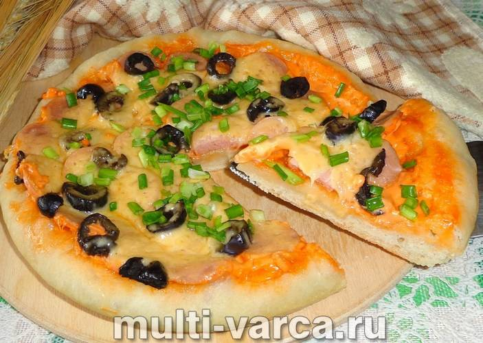 Тесто для пиццы дрожжевое очень вкусное