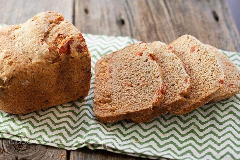 Хлеб с помидорами - 7 пошаговых фото в рецепте
