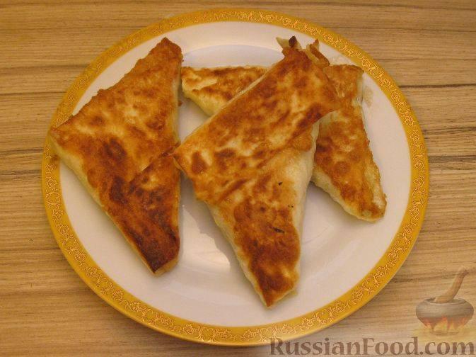 Картофельные пирожки в лаваше