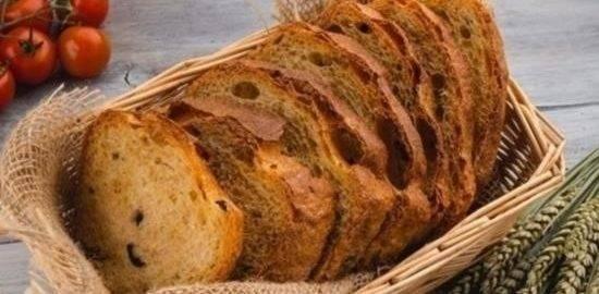 Хлеб с вялеными помидорами - 17 пошаговых фото в рецепте