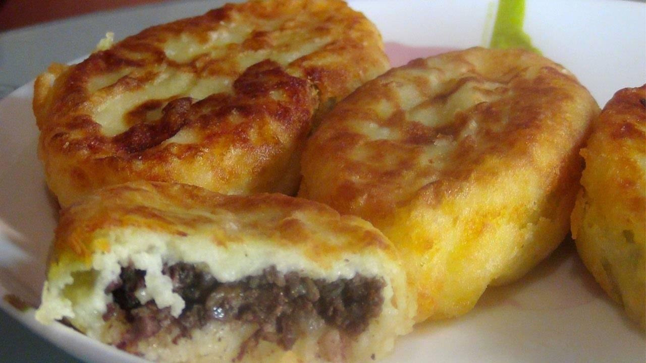 Зразы картофельные с мясом рецепт с фото