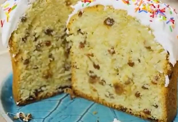 Пасхальный кулич — вкусный, влажный, мягкий и нежный: простой рецепт с фото