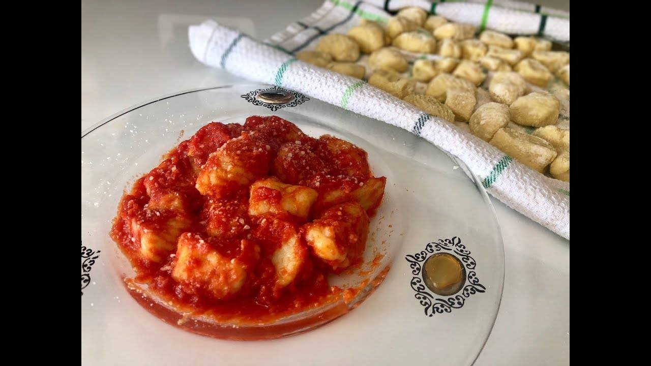 Итальянская кухня. ньокки - рецепт приготовления с фото