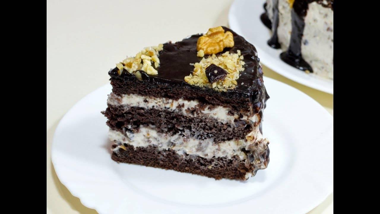 """Торт """"чернослив в шоколаде"""" - рецепт"""